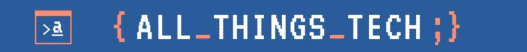 All Things Tech Logo Header