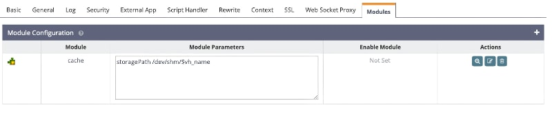 OpenLitespeed Webserver Caching Configuration